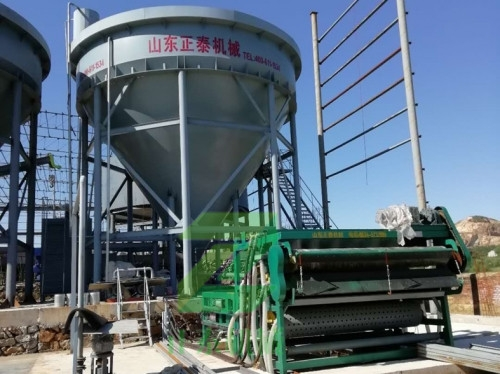 泥浆脱水设备案例