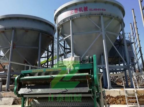 泥浆脱水设备厂家案例