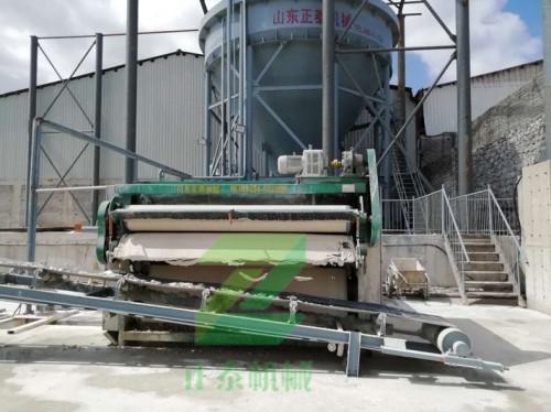 污泥脱水工程案例