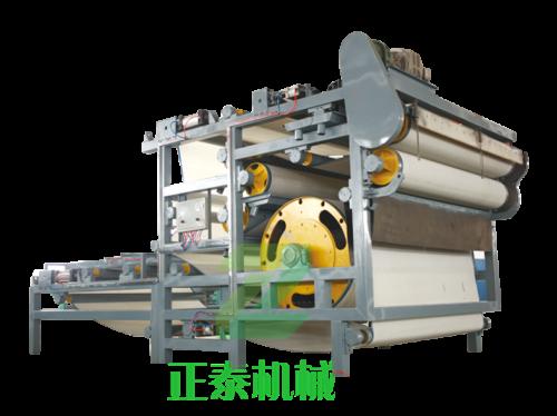 山东ZTDY-GQE超大辊径带式压滤机